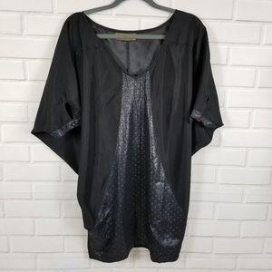 Karen Zambos Vintage Couture Dolman sleeves tunic